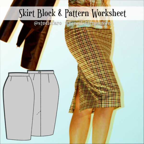 Draft your own skirt block with these instructions.