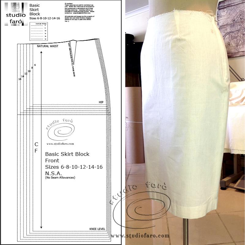 Drafting Your Skirt Block