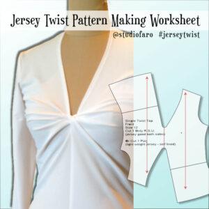 Make your own Jersey Twist Pattern